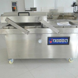 LY400/2SD double chamber stretch vacuum packaging machine
